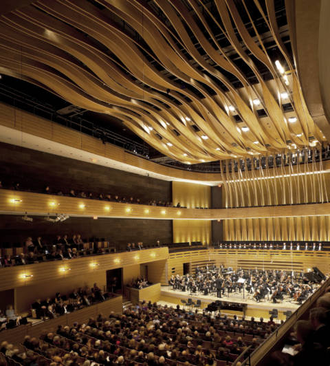 Royal Conservatory of Music Koerner Hall and orchestra