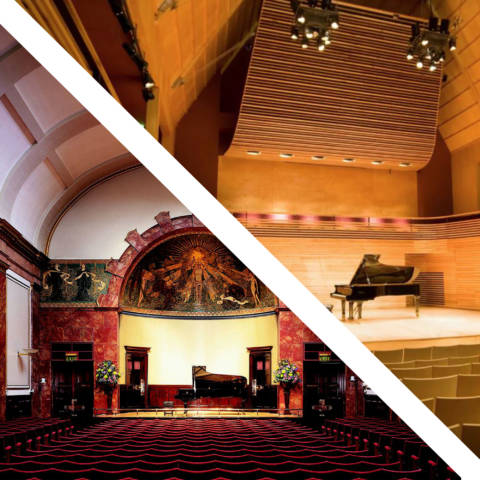 Same Piece, Same Pianist – Different Halls
