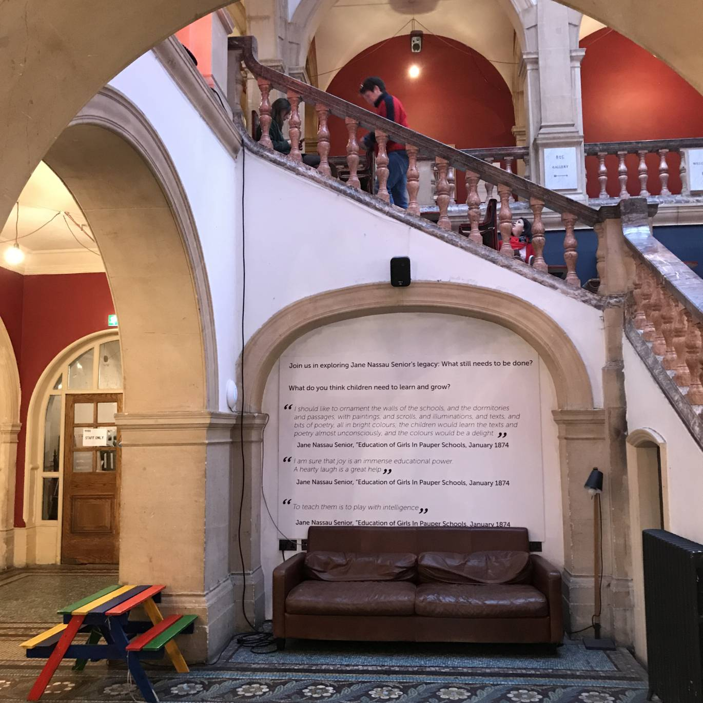 Battersea Arts Centre main staircase