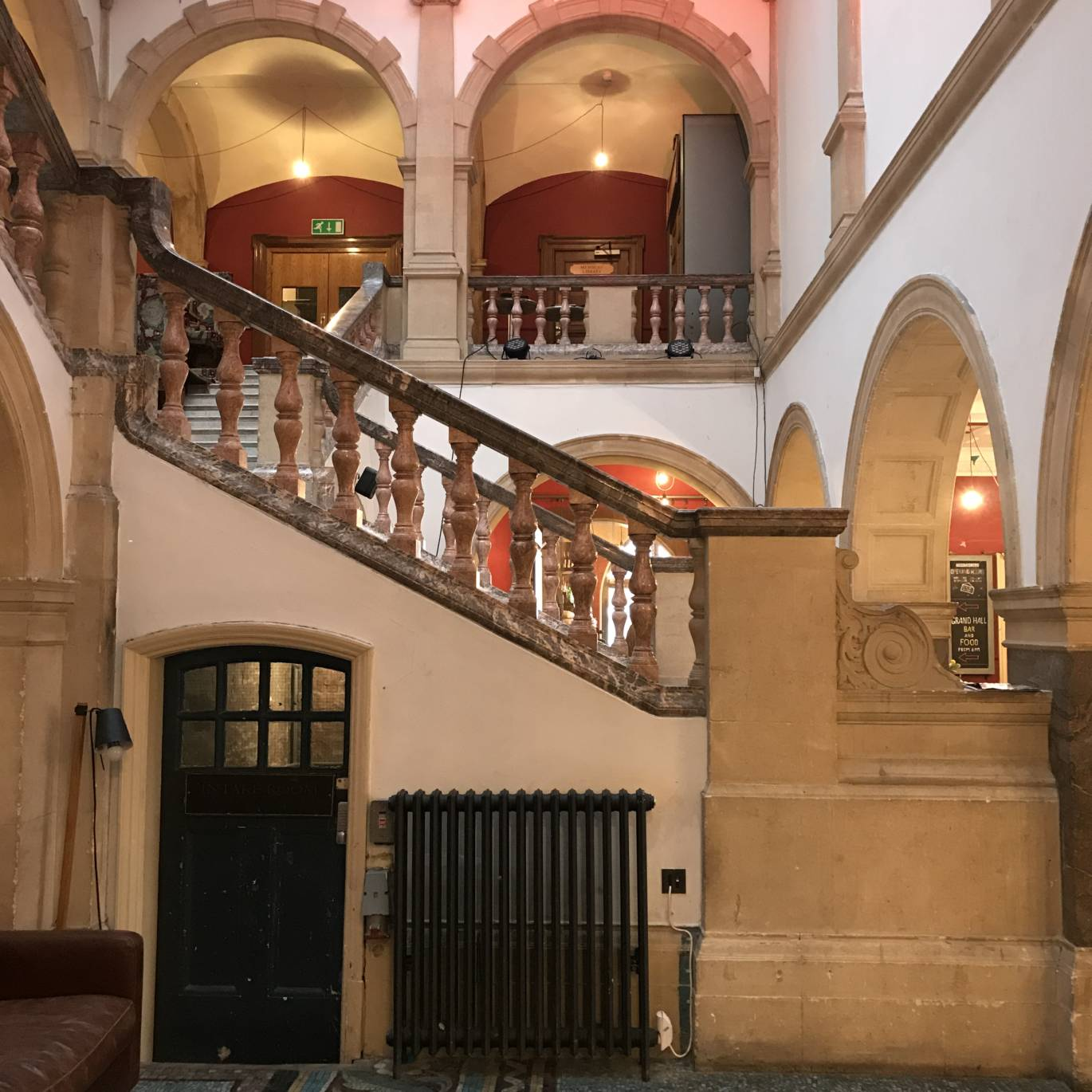 Battersea Arts Centre front staircase
