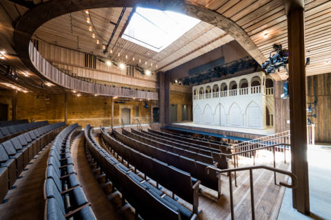 Sound Space Vision's Nevill Holt Opera wins Building of the Year at 2019 RIBA East Midlands Awards