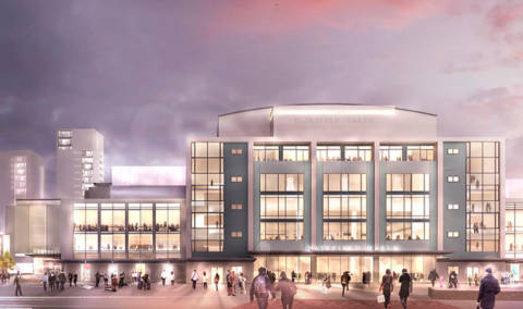 Croydon Council press release on the opening of Fairfield Halls